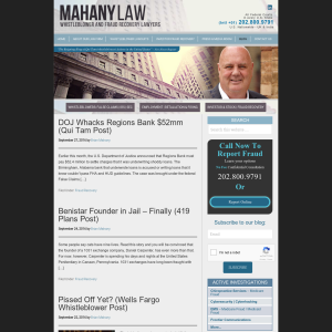 Lawyer Mahany on Fraud