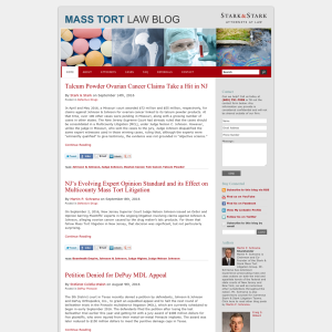 Mass Torts Law Blog