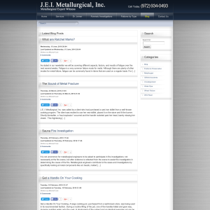 J.E.I. Metallurgical, Inc. Blog