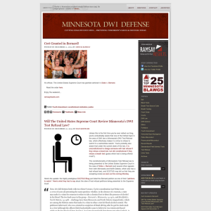 Minnesota DWI Defense Blog