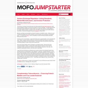 MoFo Jumpstarter