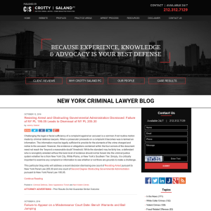 New York Criminal Lawyer Blog
