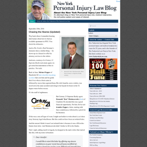New York Personal Injury Law Blog