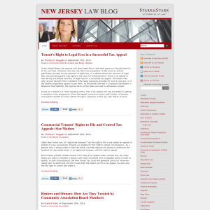 New Jersey Law Blog