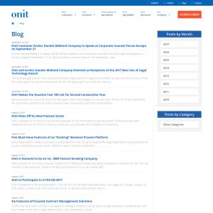 Onit Blog