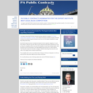 PA Public Contracts