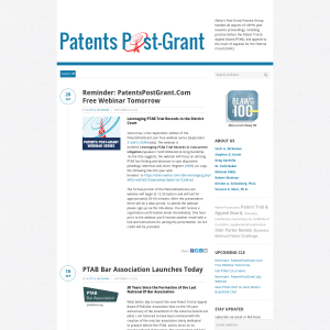 Patents Post Grant