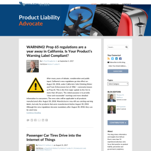 Product Liability Advocate