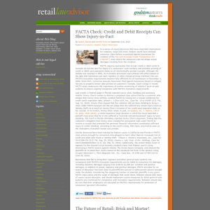 Retail Law Advisor