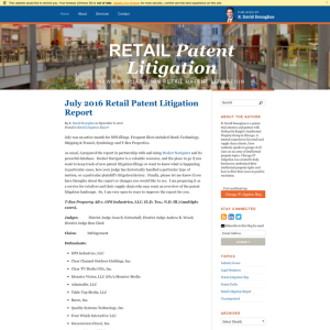 Retail Patent Litigation