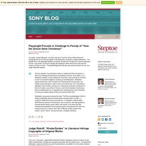 SDNY Blog