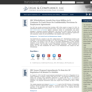 Legal & Compliance, LLC Blog