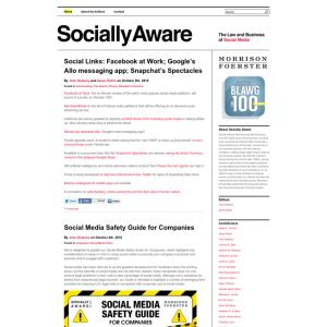 Socially Aware Blog