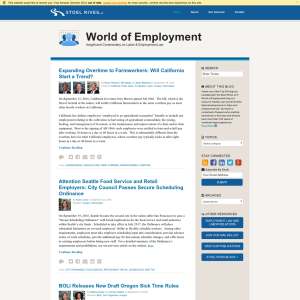 World of Employment