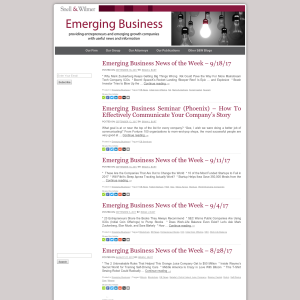 Emerging Business