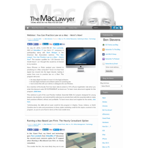 The Mac Lawyer