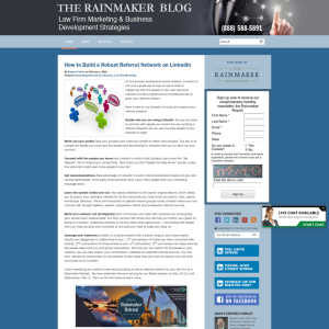 The Rainmaker Blog