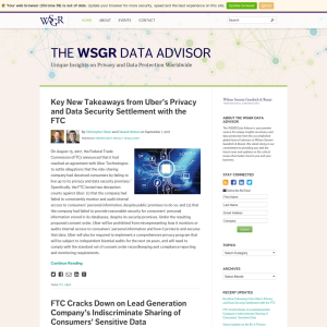 The WSGR Data Advisor
