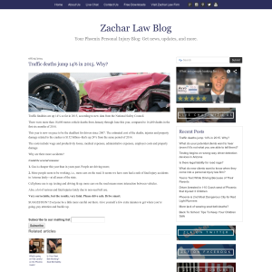 Zachar Law Blog