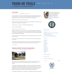 Young on Trials