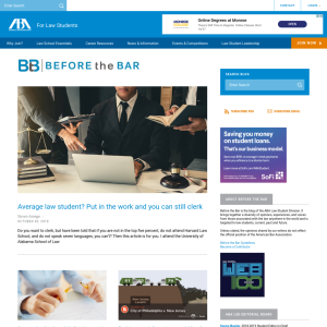 Before the Bar – ABA for Law Students