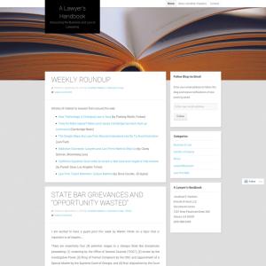 A Lawyer's Handbook