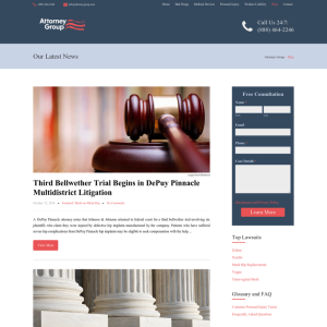 American Injury Attorney Group Blog