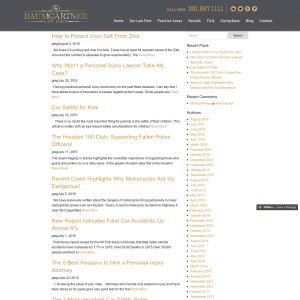 Baumgartner Law Firm Blog