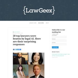 LawGeex Blog