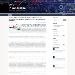 IP Landscape