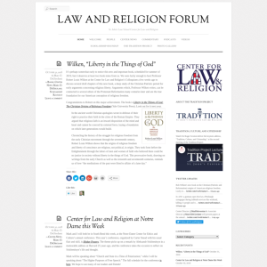 Center for Law and Religion Forum