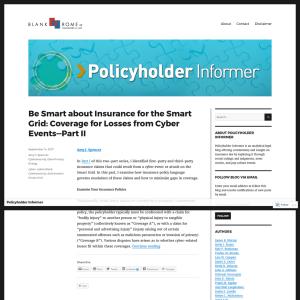 Policyholder Informer