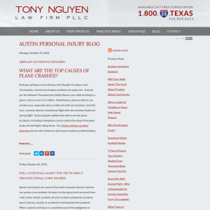 Austin Personal Injury Blog