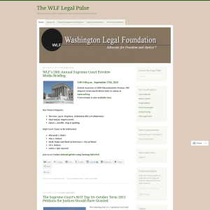 The WLF Legal Pulse