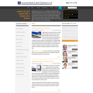 Alexander Law Group Blog