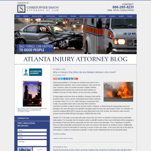 Atlanta Injury Attorney Blog