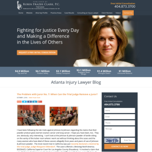 Atlanta Injury Lawyer Blog