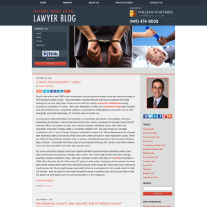 California Criminal Defense Lawyer Blog