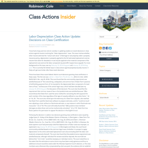 Class Actions Insider