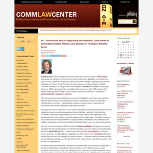 Comm Law Center