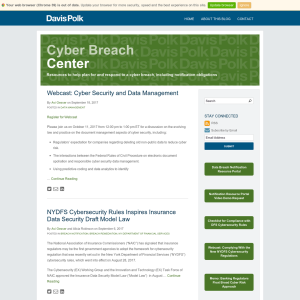 Cyber Breach Center