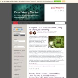 Data Privacy Monitor