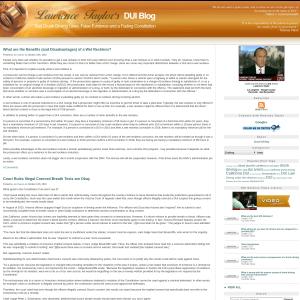DUI Blog