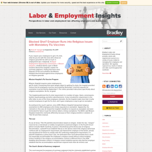 Labor & Employment Insights