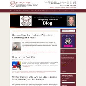 Farr Law Firm Blog