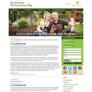 Florida Estate Planning Lawyer Blog