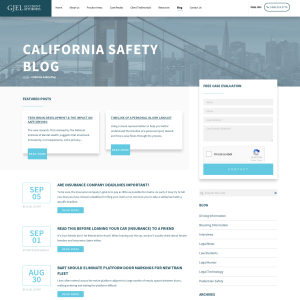 California Accident Blog