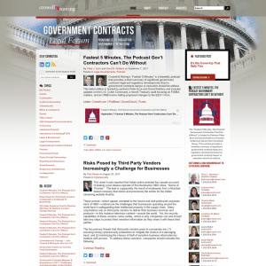 Government Contracts Legal Forum