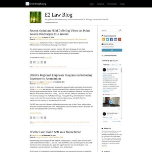 E2 Law Blog