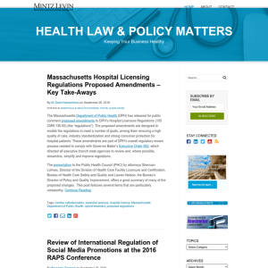 Health Law & Policy Matters